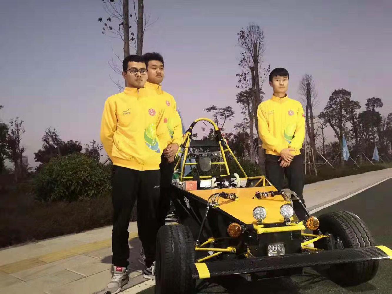 新能源汽车轻量化技术项目—万通汽车教育新能源车